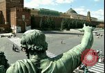 Image of Lenin's Tomb Moscow Russia Soviet Union, 1970, second 3 stock footage video 65675073439