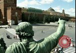 Image of Lenin's Tomb Moscow Russia Soviet Union, 1970, second 4 stock footage video 65675073439