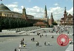 Image of Lenin's Tomb Moscow Russia Soviet Union, 1970, second 18 stock footage video 65675073439