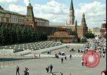 Image of Lenin's Tomb Moscow Russia Soviet Union, 1970, second 21 stock footage video 65675073439