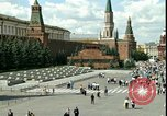 Image of Lenin's Tomb Moscow Russia Soviet Union, 1970, second 22 stock footage video 65675073439