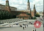 Image of Lenin's Tomb Moscow Russia Soviet Union, 1970, second 23 stock footage video 65675073439