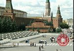Image of Lenin's Tomb Moscow Russia Soviet Union, 1970, second 25 stock footage video 65675073439
