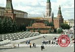 Image of Lenin's Tomb Moscow Russia Soviet Union, 1970, second 28 stock footage video 65675073439