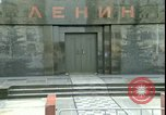 Image of Lenin's Tomb Moscow Russia Soviet Union, 1970, second 60 stock footage video 65675073439