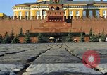 Image of Lenin's Tomb Moscow Russia Soviet Union, 1970, second 20 stock footage video 65675073441