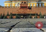 Image of Lenin's Tomb Moscow Russia Soviet Union, 1970, second 21 stock footage video 65675073441