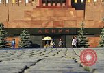 Image of Lenin's Tomb Moscow Russia Soviet Union, 1970, second 28 stock footage video 65675073441