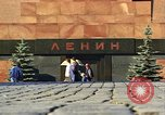 Image of Lenin's Tomb Moscow Russia Soviet Union, 1970, second 31 stock footage video 65675073441