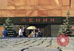 Image of Lenin's Tomb Moscow Russia Soviet Union, 1970, second 32 stock footage video 65675073441