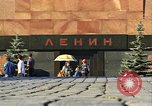 Image of Lenin's Tomb Moscow Russia Soviet Union, 1970, second 33 stock footage video 65675073441