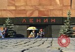 Image of Lenin's Tomb Moscow Russia Soviet Union, 1970, second 34 stock footage video 65675073441