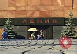 Image of Lenin's Tomb Moscow Russia Soviet Union, 1970, second 38 stock footage video 65675073441