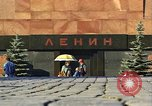 Image of Lenin's Tomb Moscow Russia Soviet Union, 1970, second 39 stock footage video 65675073441