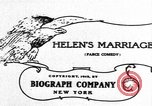 Image of Helen's Marriage New York United States USA, 1912, second 2 stock footage video 65675073460