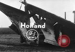 Image of tractor plows Holland Netherlands, 1954, second 3 stock footage video 65675073518