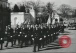 Image of full honor funeral Washington DC USA, 1958, second 3 stock footage video 65675073538