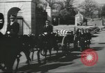 Image of full honor funeral Washington DC USA, 1958, second 21 stock footage video 65675073538