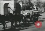 Image of full honor funeral Washington DC USA, 1958, second 22 stock footage video 65675073538