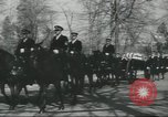 Image of full honor funeral Washington DC USA, 1958, second 35 stock footage video 65675073538