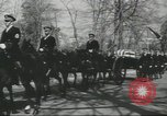Image of full honor funeral Washington DC USA, 1958, second 37 stock footage video 65675073538