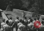 Image of Civil War Battlefield Washington DC USA, 1958, second 13 stock footage video 65675073541