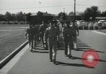 Image of graduation day parade Fort Dix New Jersey USA, 1955, second 7 stock footage video 65675073543