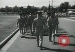 Image of graduation day parade Fort Dix New Jersey USA, 1955, second 12 stock footage video 65675073543