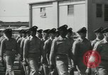 Image of graduation day parade Fort Dix New Jersey USA, 1955, second 13 stock footage video 65675073543