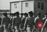 Image of graduation day parade Fort Dix New Jersey USA, 1955, second 14 stock footage video 65675073543