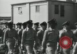 Image of graduation day parade Fort Dix New Jersey USA, 1955, second 15 stock footage video 65675073543