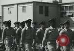 Image of graduation day parade Fort Dix New Jersey USA, 1955, second 17 stock footage video 65675073543