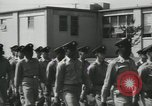 Image of graduation day parade Fort Dix New Jersey USA, 1955, second 19 stock footage video 65675073543