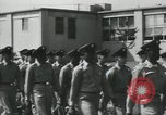 Image of graduation day parade Fort Dix New Jersey USA, 1955, second 20 stock footage video 65675073543