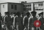 Image of graduation day parade Fort Dix New Jersey USA, 1955, second 22 stock footage video 65675073543