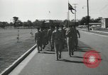 Image of graduation day parade Fort Dix New Jersey USA, 1955, second 25 stock footage video 65675073543