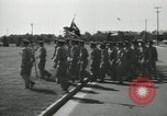 Image of graduation day parade Fort Dix New Jersey USA, 1955, second 30 stock footage video 65675073543