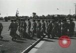 Image of graduation day parade Fort Dix New Jersey USA, 1955, second 31 stock footage video 65675073543