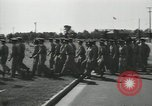 Image of graduation day parade Fort Dix New Jersey USA, 1955, second 32 stock footage video 65675073543