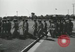 Image of graduation day parade Fort Dix New Jersey USA, 1955, second 33 stock footage video 65675073543