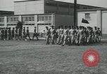 Image of graduation day parade Fort Dix New Jersey USA, 1955, second 34 stock footage video 65675073543