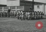 Image of graduation day parade Fort Dix New Jersey USA, 1955, second 35 stock footage video 65675073543