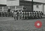 Image of graduation day parade Fort Dix New Jersey USA, 1955, second 36 stock footage video 65675073543