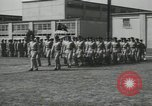 Image of graduation day parade Fort Dix New Jersey USA, 1955, second 37 stock footage video 65675073543
