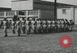 Image of graduation day parade Fort Dix New Jersey USA, 1955, second 38 stock footage video 65675073543