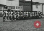 Image of graduation day parade Fort Dix New Jersey USA, 1955, second 39 stock footage video 65675073543