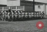 Image of graduation day parade Fort Dix New Jersey USA, 1955, second 40 stock footage video 65675073543