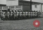Image of graduation day parade Fort Dix New Jersey USA, 1955, second 41 stock footage video 65675073543