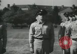 Image of Company E 1st Training Regiment Fort Dix New Jersey USA, 1955, second 55 stock footage video 65675073544