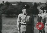 Image of Company E 1st Training Regiment Fort Dix New Jersey USA, 1955, second 57 stock footage video 65675073544